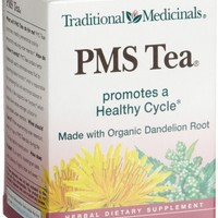 Traditional Medicinals PMS Tea Cinnamon, 16-Count Wrapped Tea Bags (Pack of 6)