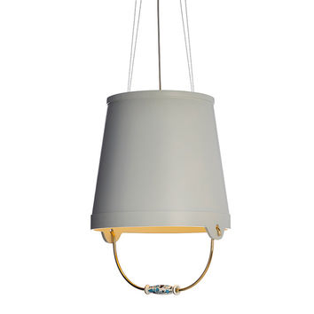 bucket suspension lamp