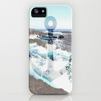 Anchors Away to Summer iPhone & iPod Case by Pink Berry Pattern
