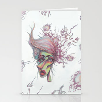 Sorting through Weeds Stationery Cards by Ben Geiger