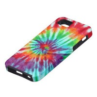 Green Spiral Tie-Dye Casemate iPhone 5 Iphone 5 Covers from Zazzle.com