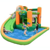 Kidwise Endless Fun 11 in 1 Inflatable Bounce House and Water Slide Combo