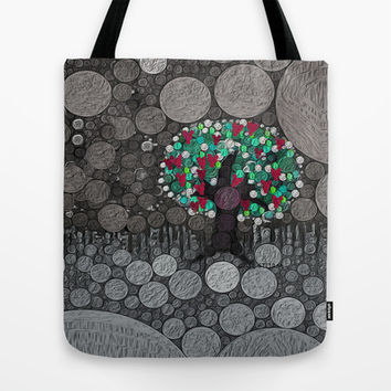 :: Tree of Hearts :: Tote Bag by GaleStorm Artworks