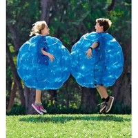 """Buddy Bounce Outdoor Play Ball, Inflatable - Blue - 36"""" diam."""