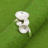 Awa silver ring Designed and Handmade by Atelier by ateliershinji