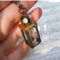 Magic Fairy Lantern necklace by starsb117 on Etsy