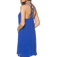 Peri Blue Sleeveless Shift