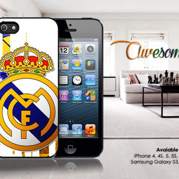 real madrid iphone 4/4s/5/5c/5s case, real madrid samsung galaxy s3/s4/s5, real madrid samsung galaxy s3 mini/s4 mini, real madrid samsung galaxy note 2/3