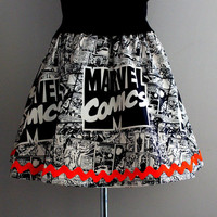 Marvel Comics, Womens Mini Skirt, Womens Skirts, Geek Clothing, Superhero Skirts