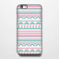 Pink and White Ethnic Aztec iPhone 6 Plus/6/5S/5C/5/4S/4 Rubber Case #233