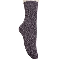 With Love From CA Marble Sweater Knit Boot Socks - Womens Scarves - Purple - One