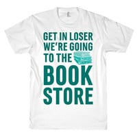 GOING TO THE BOOK STORE TEE