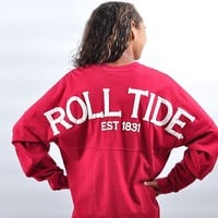 Alabama Roll Tide Spirit Shirt Crimson