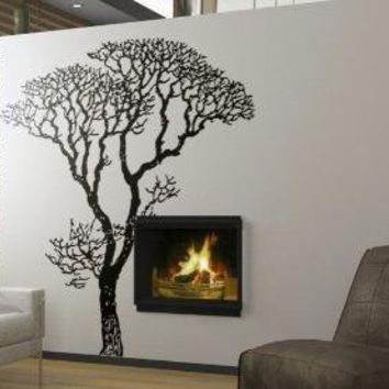 Vinyl Wall DecalGiant Winter TreeWall Art Home Decors by WowWall