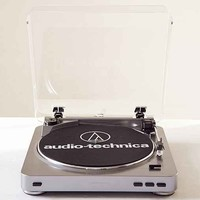 Audio Technica AT-LP60 Vinyl Record Player- Silver One