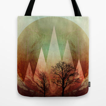 TREES under MAGIC MOUNTAINS I Tote Bag by Pia Schneider [atelier COLOUR-VISION]