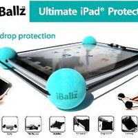 iBallz Original Universal Case for iPad 1-4, Galaxy 10, Surface and 10-12-Inch Tablets
