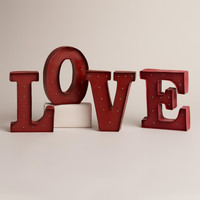 'LOVE' Battery-Operated Marquee Lights - World Market