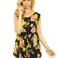 Some Days Lovin The Seeker Floral Playsuit in Multi