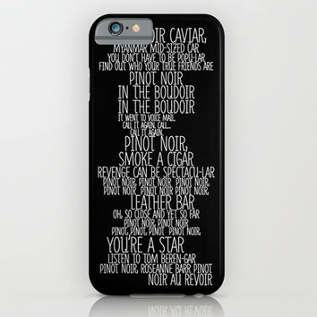 Pinot Noir iPhone & iPod Case by Sara Eshak
