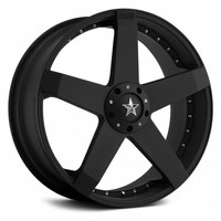 KMC® - ROCKSTAR CAR Matte Black