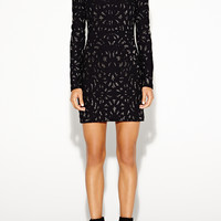 Mercedes Swirl Knit Dress