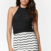 Kendall and Kylie Sweater Halter Top at PacSun.com