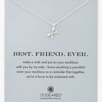 Women's Dogeared 'Best. Friend. Ever.' Boxed Pendant Necklace - Silver