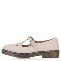 GRACIE T-Bar Geek Shoes - Nude