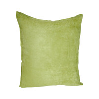Hudson Street Faux Suede Throw Pillow