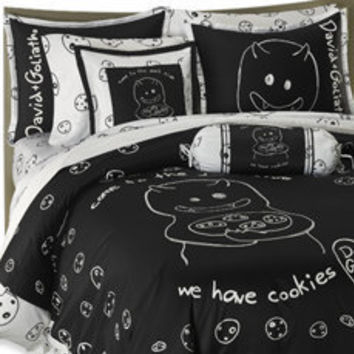 Cookies Duvet Cover Set by David and Goliath?-, 100% Cotton Sateen - Bed Bath & Beyond