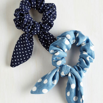 Spot-On and On Hair Tie Set | Mod Retro Vintage Hair Accessories | ModCloth.com