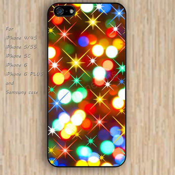 iPhone 5s 6 case sparkle lighting Dream catcher colorful phone case iphone case,ipod case,samsung galaxy case available plastic rubber case waterproof B470