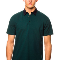 Shades of Grey Teal Polo Shirt