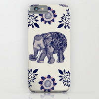 Elephant Pink iPhone & iPod Case by Rskinner1122
