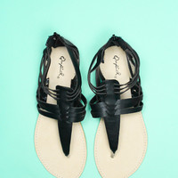 Sweet Savannah Sandal - Black