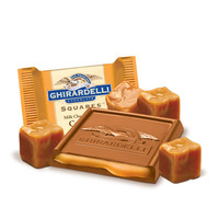 Ghirardelli Milk Chocolate with Caramel Filling Squares: 120-Piece Box | CandyWarehouse.com Online Candy Store