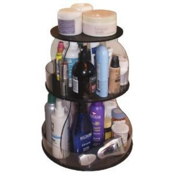 """Makeup & Cosmetic Organizer That Spins for Easy Access to all your Beauty Essentials, NO More Clutter!Save Space, Only 12"""" needed on Your Counter. ...Proudly Made in the USA! by PPM."""