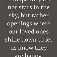 Stars in the sky quote- loved ones sign, loved ones canvas, you are happy quote, quote on canvas, canvas quote, remembering loved ones