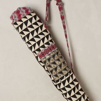 Euclidean Yoga Bag by Anthropologie Black & White One Size Bags
