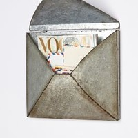 Welded Letter Holder by Anthropologie Silver One Size Decor