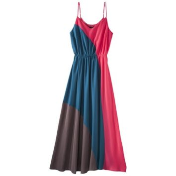 Mossimo® Women's Color Block Maxi Dress - Assorted Colors