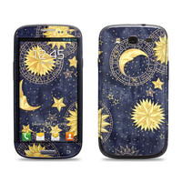 Samsung Galaxy S3 Phone Case Cover Decal  Celestial by skunkwraps