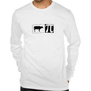 Cow Pie Long Sleeve Jersey Shirt