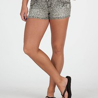 Almost Famous Cheetah Print Stretch Short