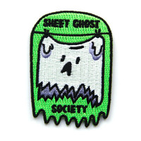 Sheet Ghost Society Patch