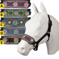 Teskey's Saddle Shop: Native American Indian Seed Bead Nose Halter