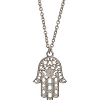 H&M - Necklace with Pendant - Silver - Ladies
