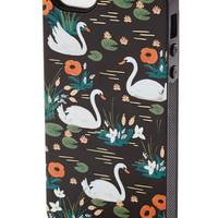 Rifle Paper Co Travel Swans a-Streaming iPhone 5, 5s Case