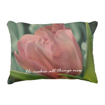 All things New Bible Verse Spring Tulips